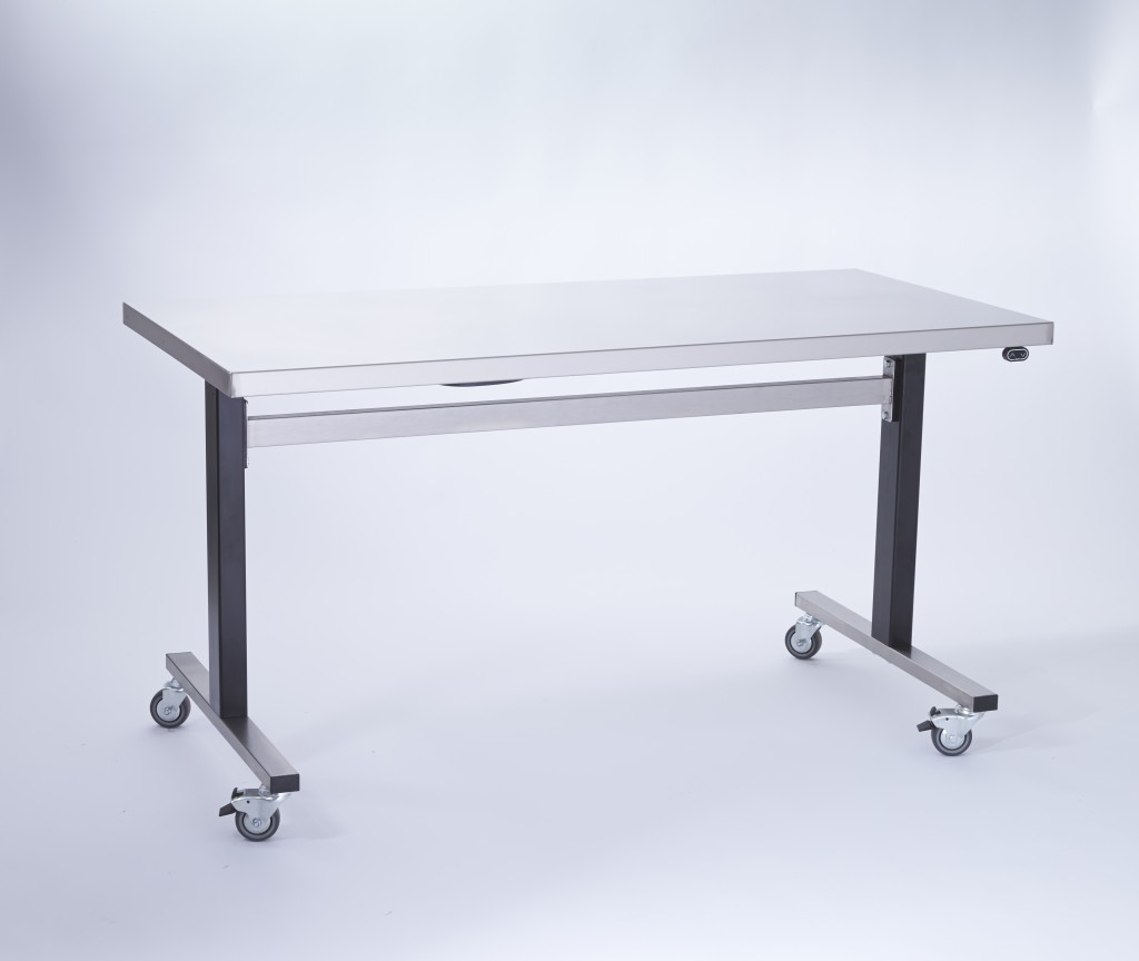 Stainless Steel Variable Height Instrument Prep Table CSSD – PREPTAB