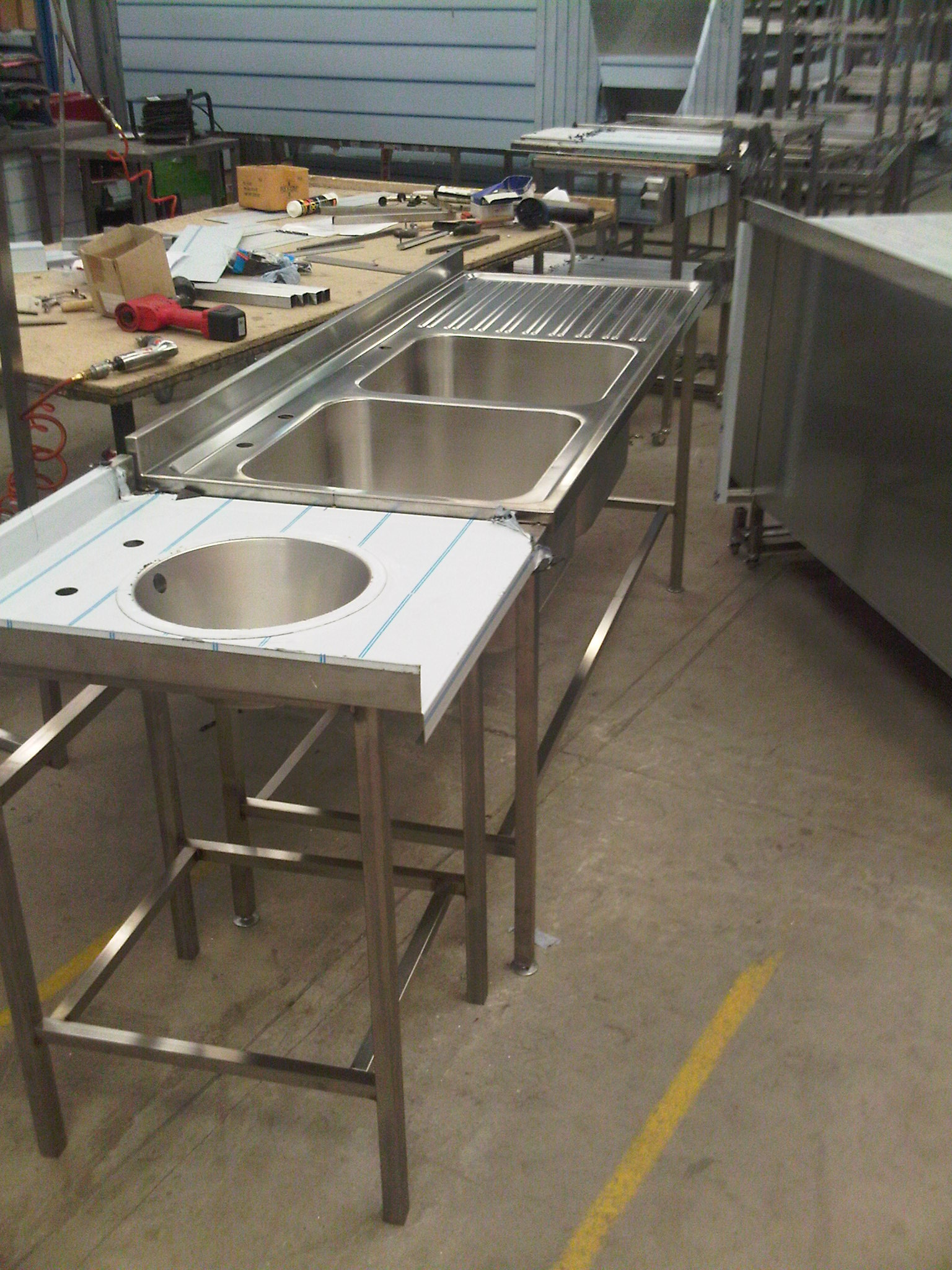 Stainless Steel Furniture Equipment Fabrication Parry