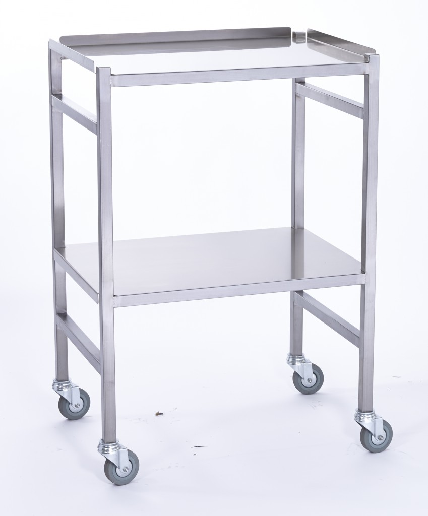 Stainless Steel Universal Surgical Instrument / Dressing Trolley CSSD – DTCL
