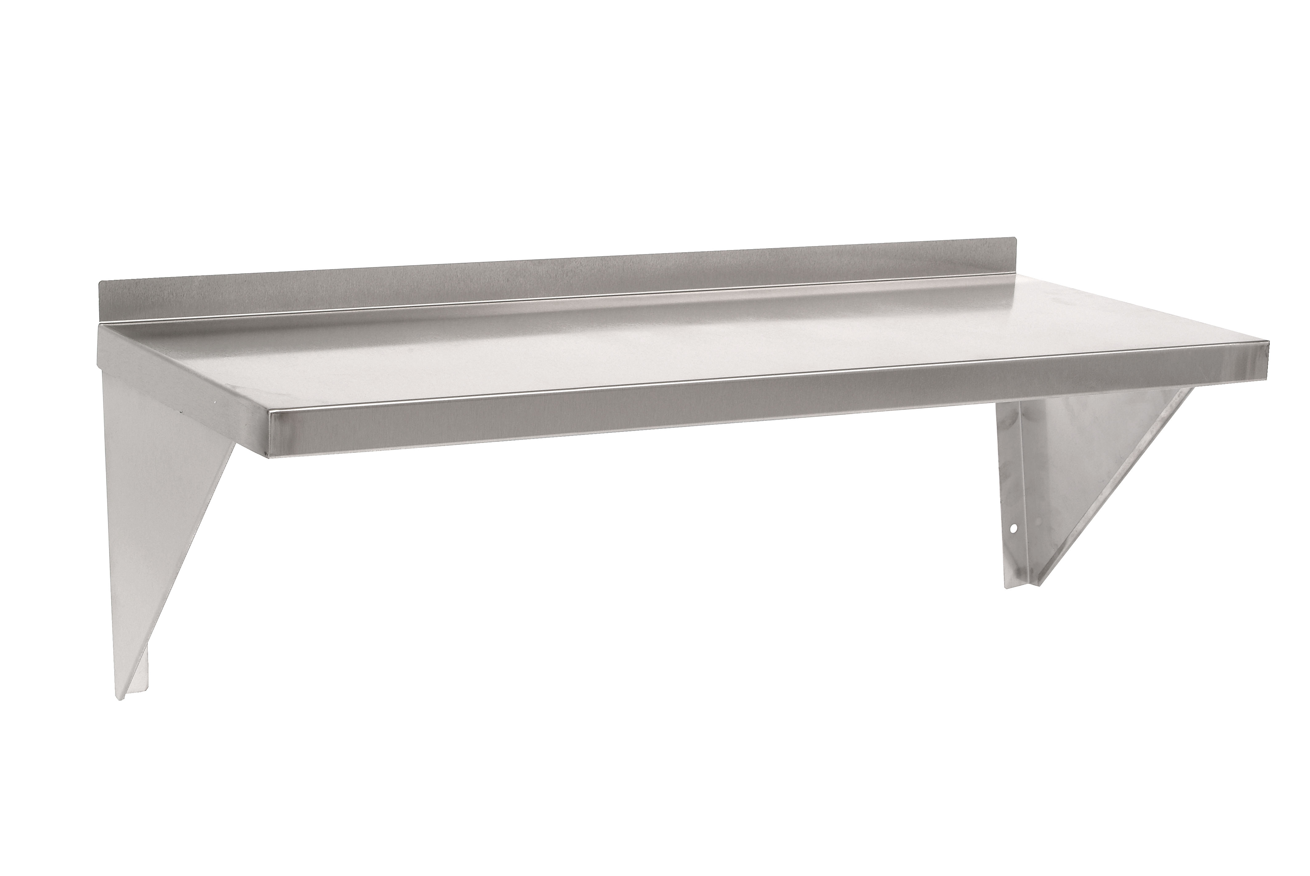 Steel Fabs Microwave Shelf