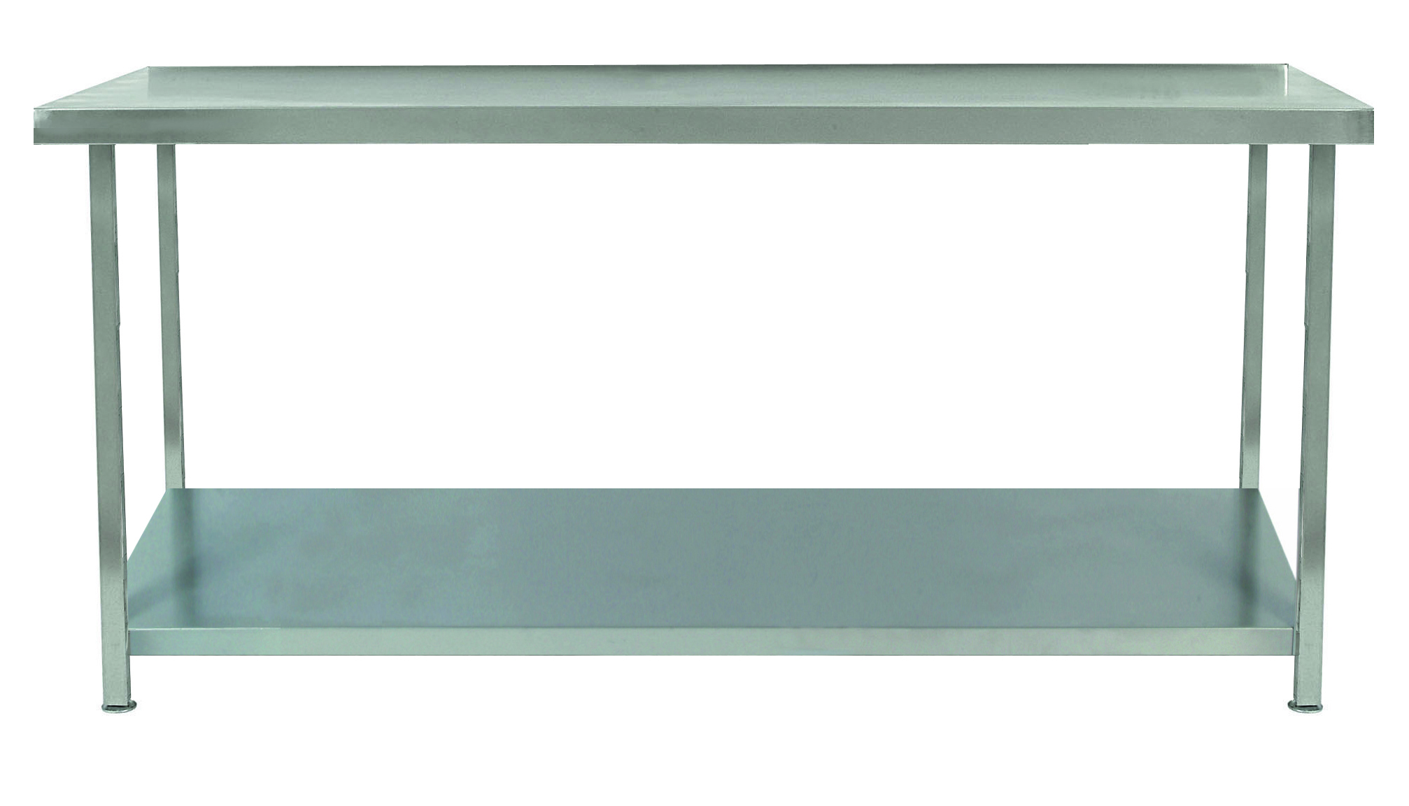 Good Stainless Steel Table With One Under Shelf   TAB1U/S   Parry