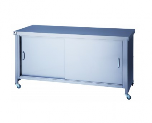STAINLESS STEEL CUPBOARDS & UNITS